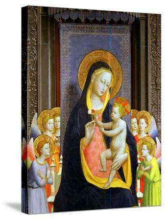 San Domenico Altarpiece, c.1422-Fra Angelico-Stretched Canvas Print
