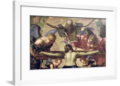The Trinity-Jacopo Robusti Tintoretto-Framed Giclee Print
