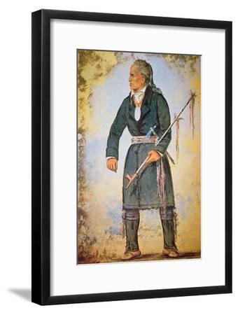 Red Jacket-George Catlin-Framed Giclee Print
