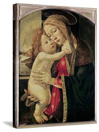 The Virgin and Child, c.1500-Sandro Botticelli-Stretched Canvas Print