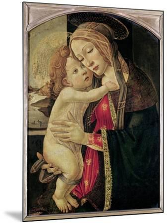 The Virgin and Child, c.1500-Sandro Botticelli-Mounted Giclee Print