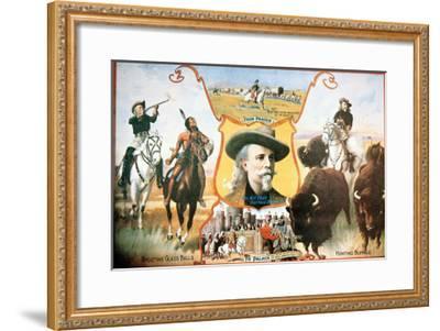 Poster For Buffalo Bill's--Framed Giclee Print