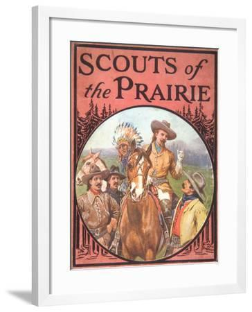 Scouts of the Prairie, c.1900--Framed Giclee Print