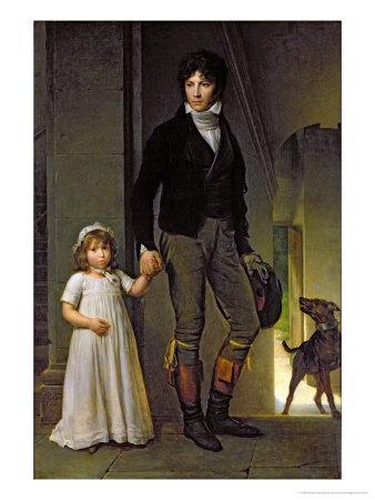 Jean-Baptiste Isabey-Francois Gerard-Framed Giclee Print