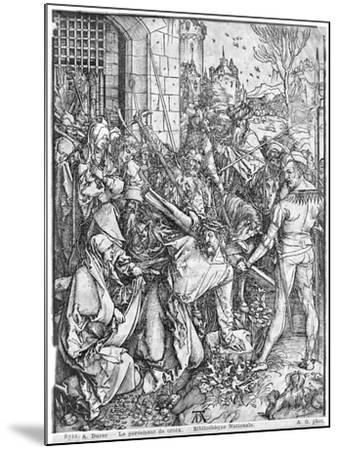 The Carrying of the Cross-Albrecht D?rer-Mounted Giclee Print