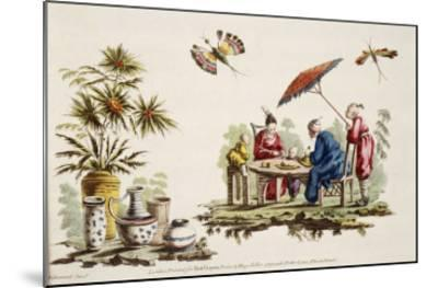 Japanese Apparel and Parasol-Jean Baptiste Pillement-Mounted Giclee Print