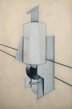 Projet Pour Un Sculpture D'Angle-Vladimir Evgrafovich Tatlin-Stretched Canvas Print