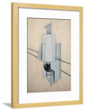 Projet Pour Un Sculpture D'Angle-Vladimir Evgrafovich Tatlin-Framed Giclee Print