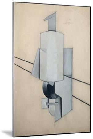 Projet Pour Un Sculpture D'Angle-Vladimir Evgrafovich Tatlin-Mounted Giclee Print