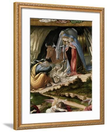 Mystic Nativity, 1500-Sandro Botticelli-Framed Giclee Print