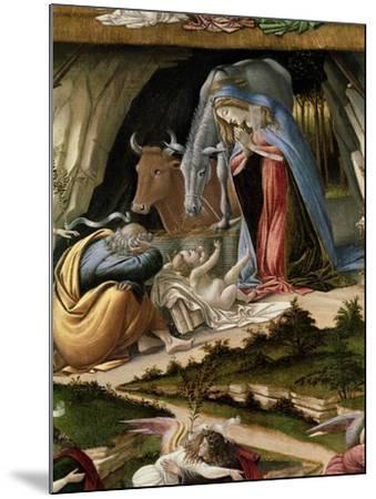 Mystic Nativity, 1500-Sandro Botticelli-Mounted Giclee Print