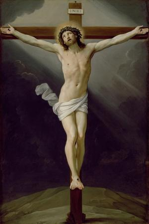 Christ on the Cross-Guido Reni-Stretched Canvas Print