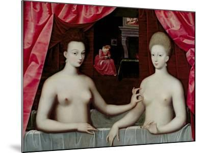 Gabrielle D'Estrees--Mounted Giclee Print