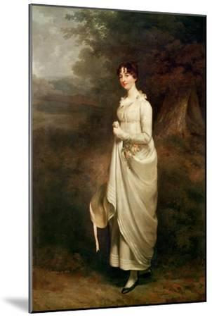Portrait of Maria. B. Fox-Sir William Beechey-Mounted Giclee Print