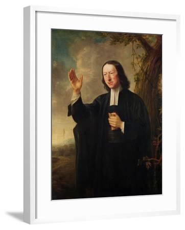 Portrait of John Wesley, c.1766-Nathaniel Hone-Framed Giclee Print