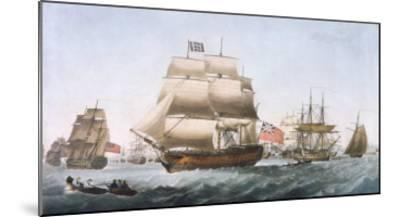 HMS Victory, 1806--Mounted Giclee Print