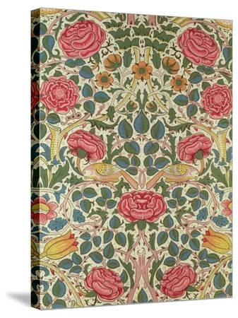 Rose, 1883-William Morris-Stretched Canvas Print