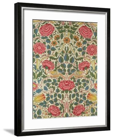 Rose, 1883-William Morris-Framed Premium Giclee Print
