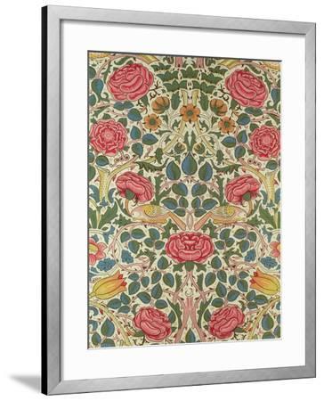 Rose, 1883-William Morris-Framed Giclee Print
