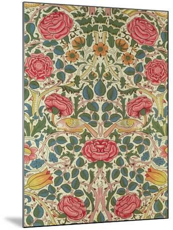 Rose, 1883-William Morris-Mounted Giclee Print