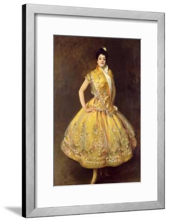 La Carmencita, 1890-John Singer Sargent-Framed Giclee Print
