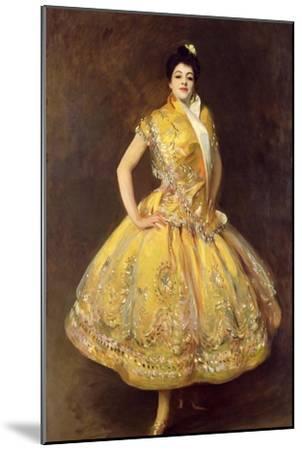 La Carmencita, 1890-John Singer Sargent-Mounted Giclee Print