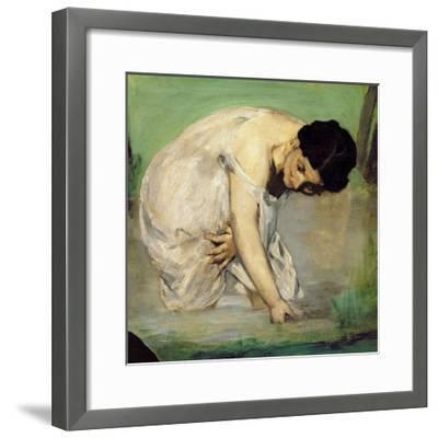 Dejeuner Sur L'Herbe, 1863-Edouard Manet-Framed Giclee Print