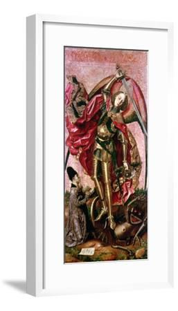 St. Michael and the Dragon- Bermejo-Framed Giclee Print