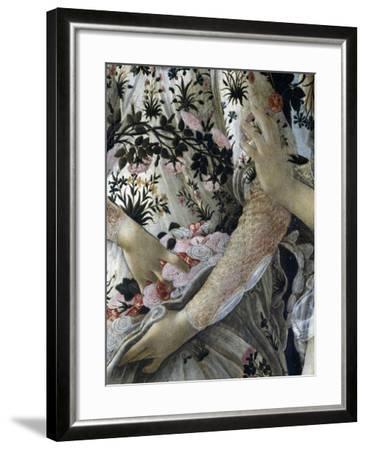 Primavera, c.1478-Sandro Botticelli-Framed Giclee Print