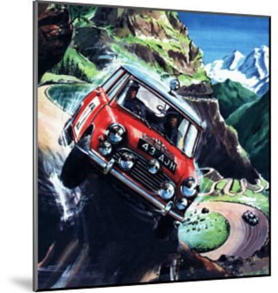 Monte Carlo Rally--Mounted Giclee Print