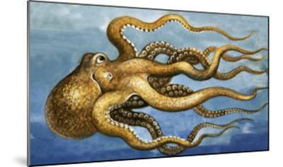 Octopus--Mounted Giclee Print