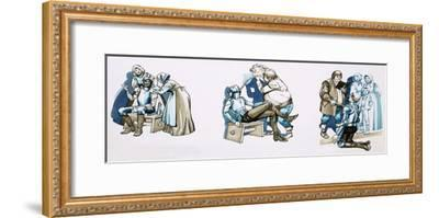 Scenes from Don Quixote--Framed Giclee Print