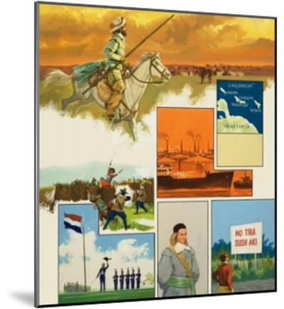 Curacao--Mounted Giclee Print