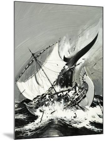 Stories of the Sea: The First Mariners-Graham Coton-Mounted Giclee Print