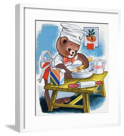 Teddy Bear--Framed Giclee Print