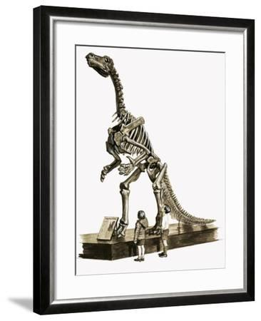 In the Days of the Dinosaurs: A Hundred Million Year Old Mystery-Roger Payne-Framed Giclee Print