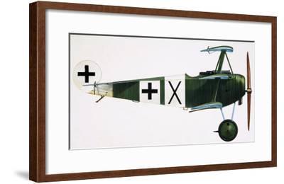 Unidentified Triplane-English School-Framed Giclee Print