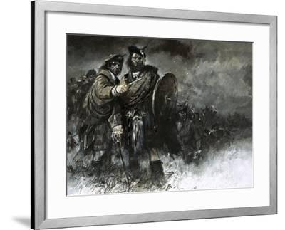 The Cause of Bonnie Prince Charlie and His Courageous Highlanders Was Doomed from the Start-Neville Dear-Framed Giclee Print