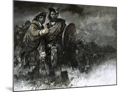 The Cause of Bonnie Prince Charlie and His Courageous Highlanders Was Doomed from the Start-Neville Dear-Mounted Giclee Print