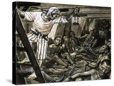 Men with a Mission: He Gave Millions Their Freedom. William Wilberforce-Clive Uptton-Stretched Canvas Print