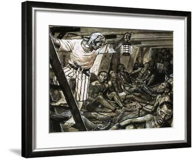 Men with a Mission: He Gave Millions Their Freedom. William Wilberforce-Clive Uptton-Framed Giclee Print