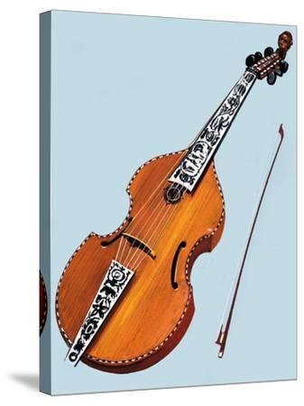 Cello--Stretched Canvas Print