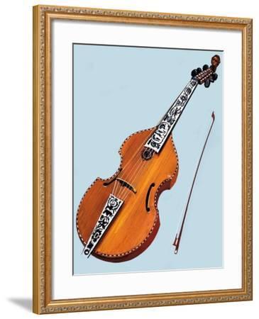 Cello--Framed Giclee Print
