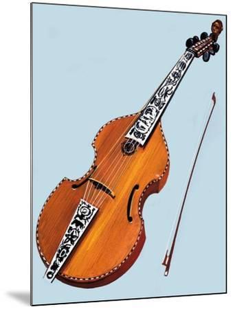 Cello--Mounted Giclee Print