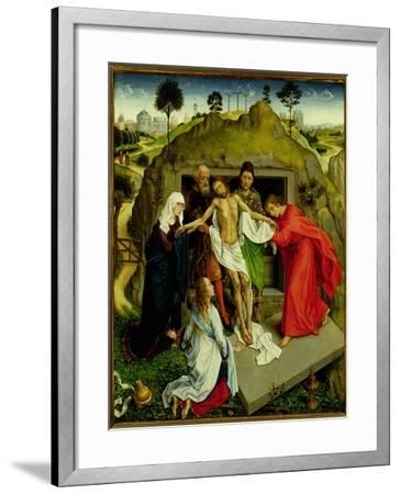 The Entombment, c.1450-Rogier van der Weyden-Framed Giclee Print