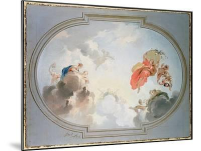 Ceiling Design Depicting the Apotheosis of Flora-Jacob De Wit-Mounted Giclee Print