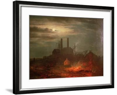 Old Hetton Colliery, Newcastle--Framed Giclee Print