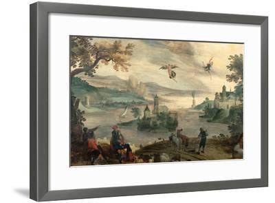 The Fall of Icarus-Jacob Grimmer-Framed Giclee Print