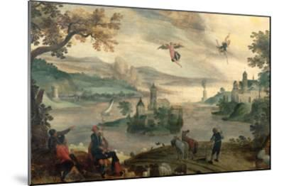 The Fall of Icarus-Jacob Grimmer-Mounted Giclee Print