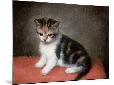 Miss Ann White's Kitten, 1790-George Stubbs-Mounted Giclee Print